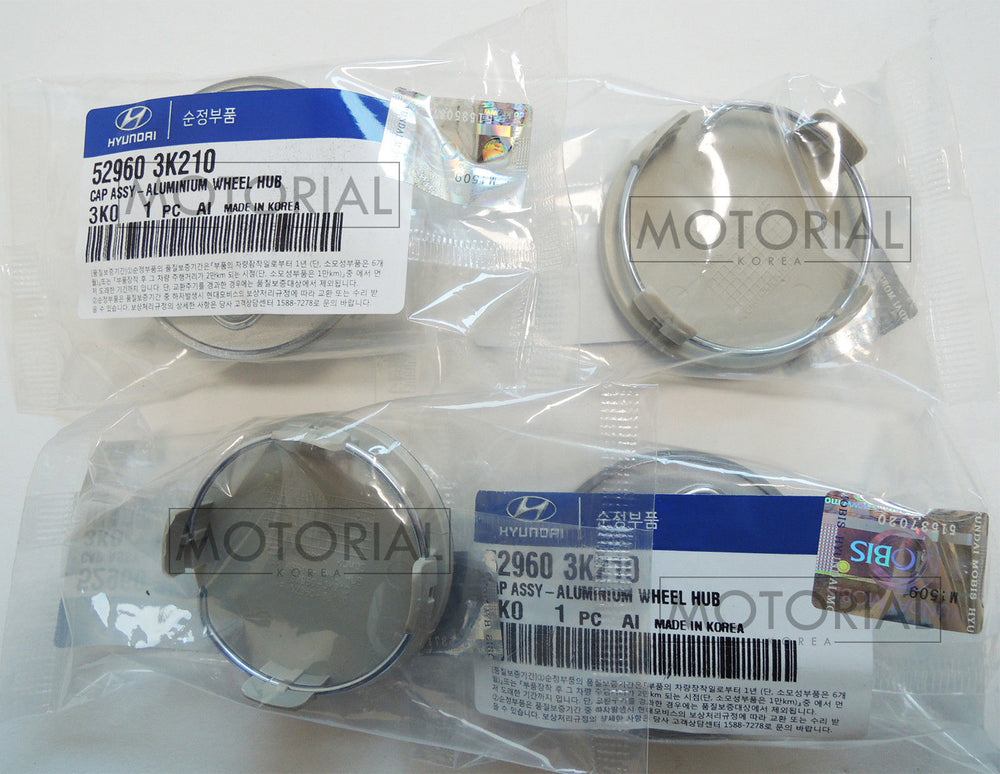 2006-2012 HYUNDAI VERACRUZ / ix55 Genuine OEM Wheel Center Cap 4EA Set