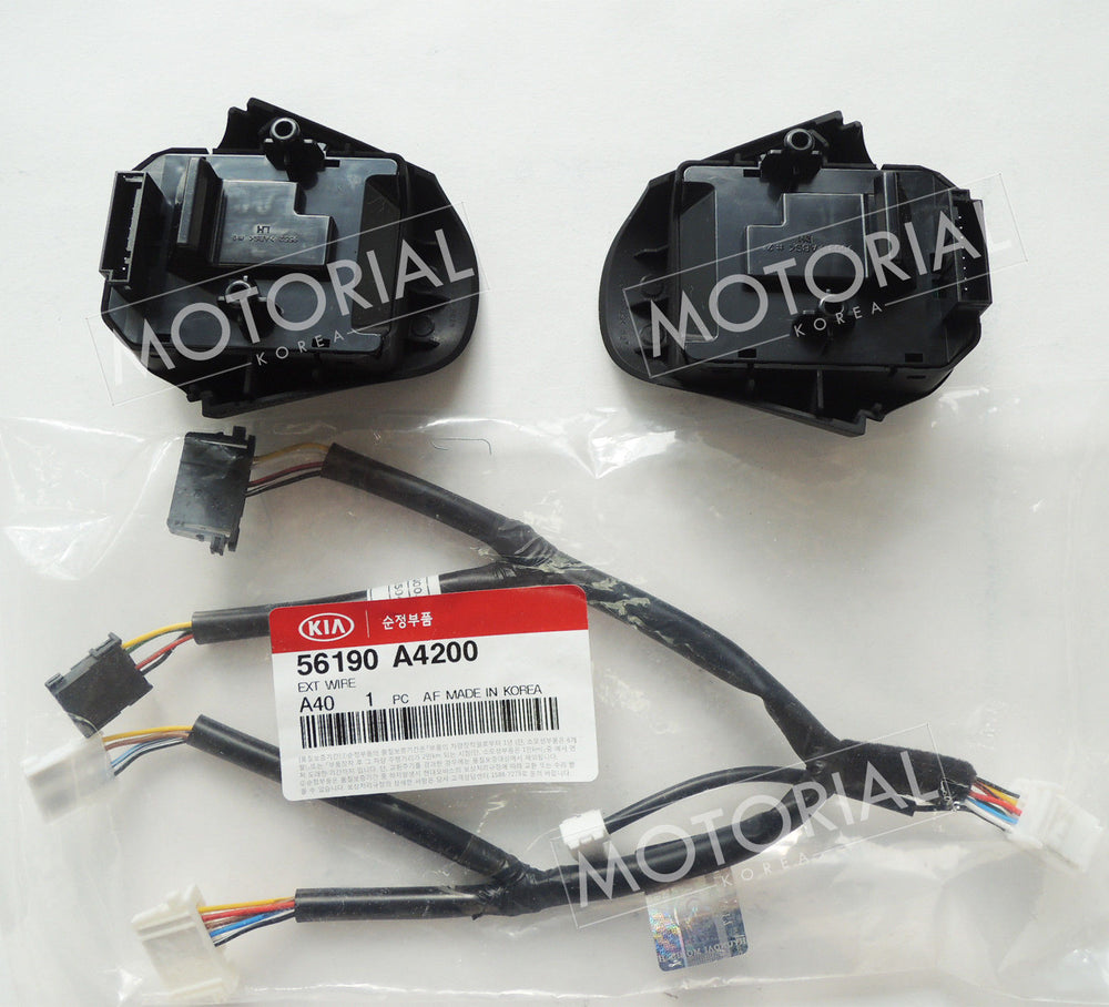 2013-2017 KIA RONDO / CARENS OEM Auto Cruise Control Switch + Wire Set No-Heated