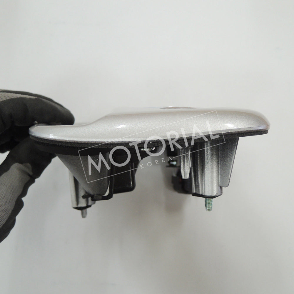 2011-2017 KIA PICANTO Genuine OEM Rear Tailgate Handle Assy Silver 817201Y0103D