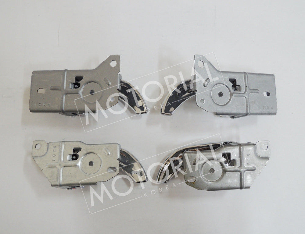 KIA SORENTO 2003-2009 Genuine OEM Inside Door Chrome Handle 4Pcs Set