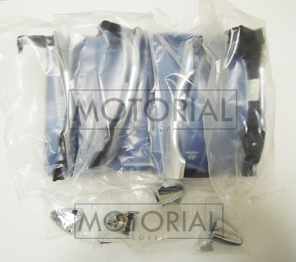 2010-2013 HYUNDAI TUCSON / ix35 Genuine OEM Handle Assy Door Outside 8Pcs Set