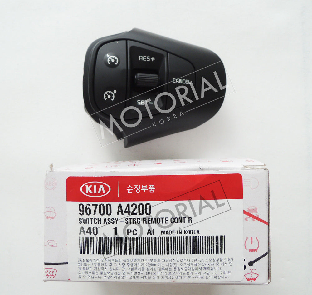 2013 2017 KIA RONDO CARENS OEM Auto Cruise Control Switch + Wire 2pcs Set