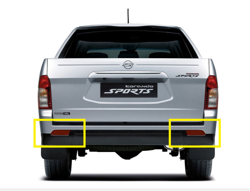 SSANGYONG ACTYON & KORANDO SPORTS 2013-2017 OEM Rear Bumper Reflector Set