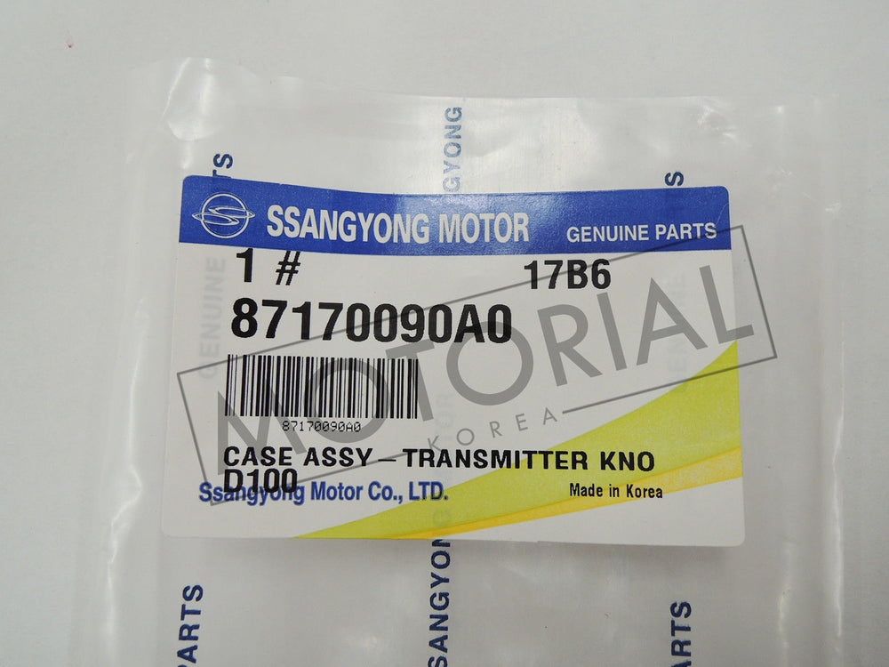 SSANGYONG KYRON 2005 2006 Genuine OEM Key Case Cover Assy