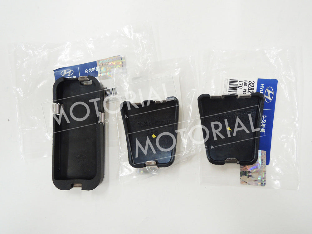 2011-2018 HYUNDAI ACCENT SOLARIS OEM Manual Pedal 3pcs Set