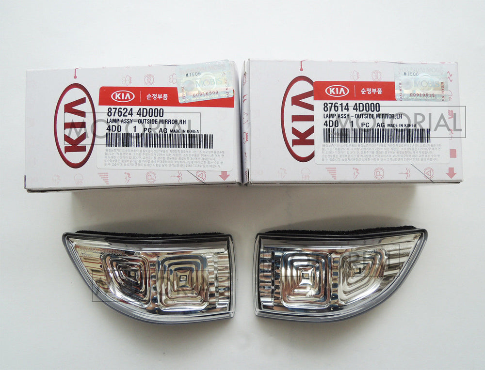 2009-2014 KIA SEDONA CANIVAL OEM LED Mirror Repeater Lamp 2EA Set