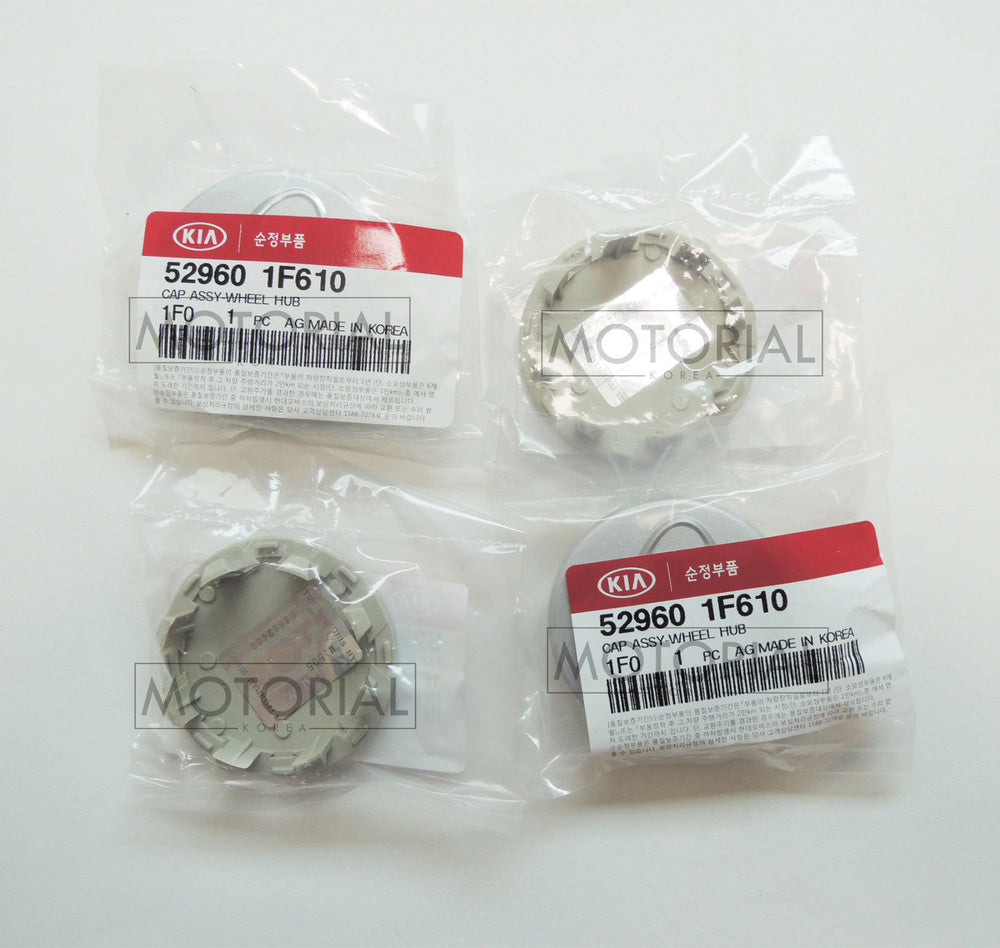2006-2012 RONDO / CARENS Genuine OEM KIA Logo Wheel Center Cap 4EA Set