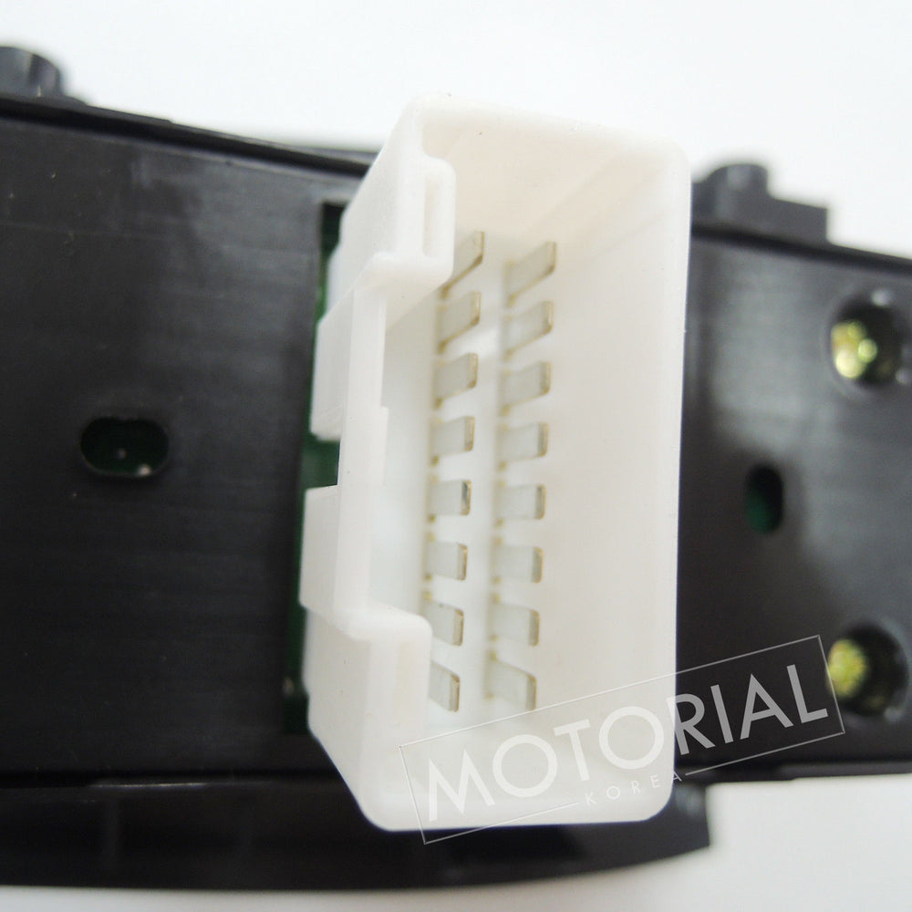 2007-2010 HYUNDAI ELANTRA / AVANTE OEM Main Power Window Switch 935702H0009P