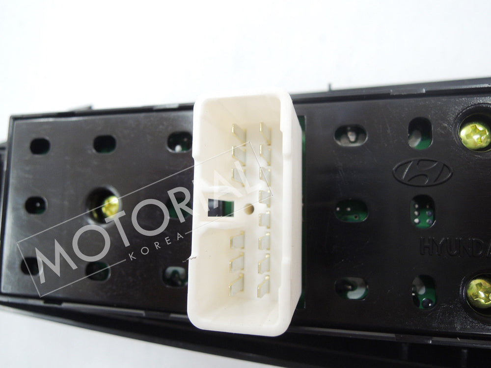 2006-2011 HYUNDAI GETZ / CLICK Genuine OEM Main Power Window Switch