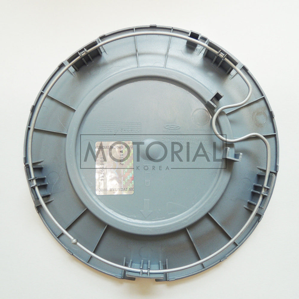 2009-2014 HYUNDAI GENESIS OEM 18inch Wheel Center Cap + Front Rear Emblem 6pcs
