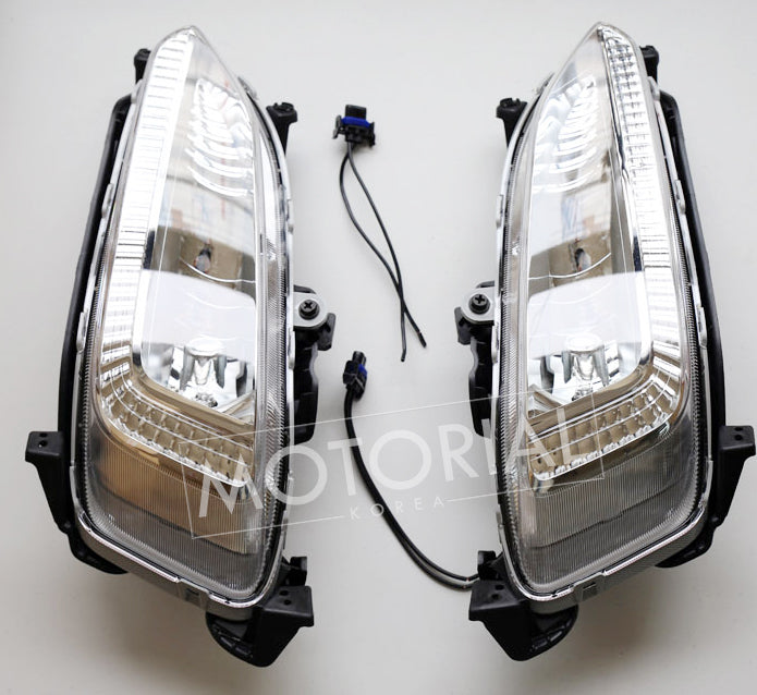 Fog Light Lamp Wire 4EA Genuine Parts for Hyundai Santa Fe Sports 2013 2016