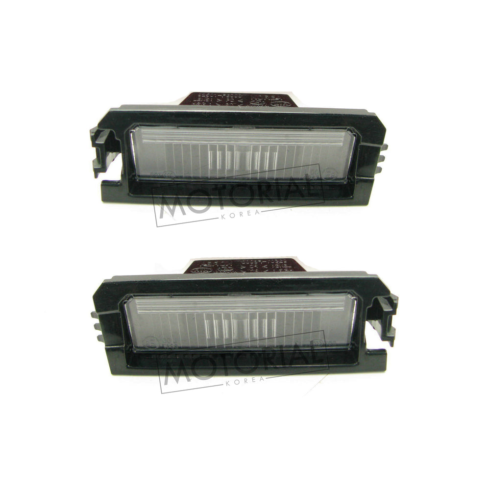 2018-2020 Hyundai Sonata Genuine OEM License Plate Lamp 2pcs Set