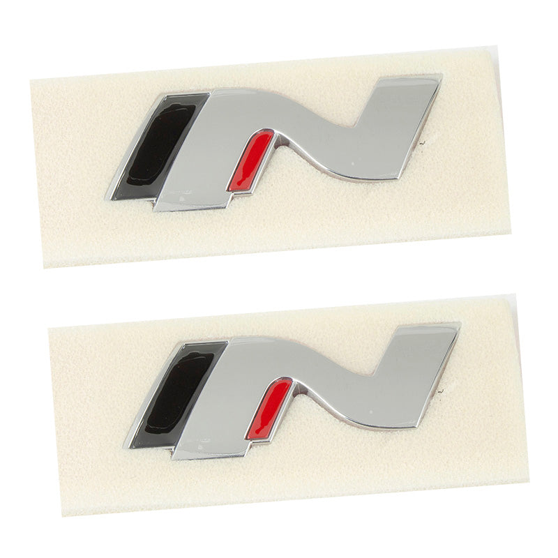 2019-2021 HYUNDAI TUCSON N Genuine N Emblem Badge 2pcs