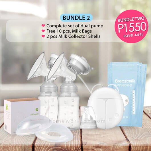 Electronic Dual Breast Milk Pump