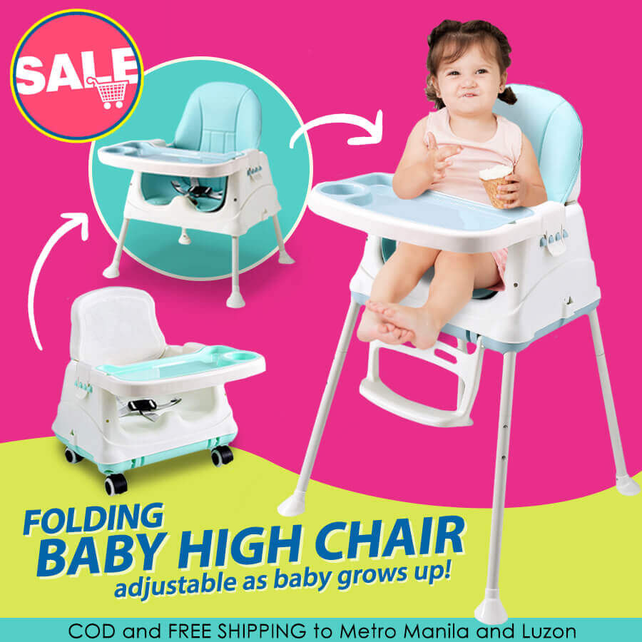 Portable Baby High Chair