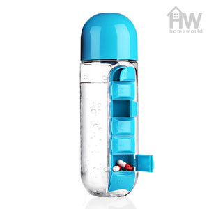 Water Pill Bottle