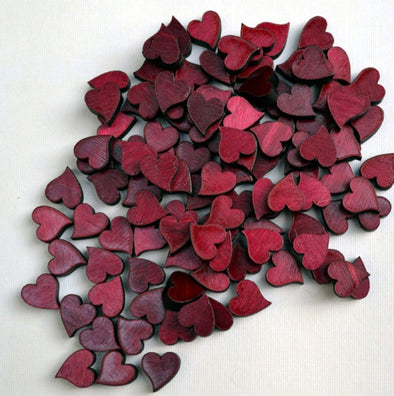 Confetti Valentine Hearts (100) From Red Maple Table Scatter