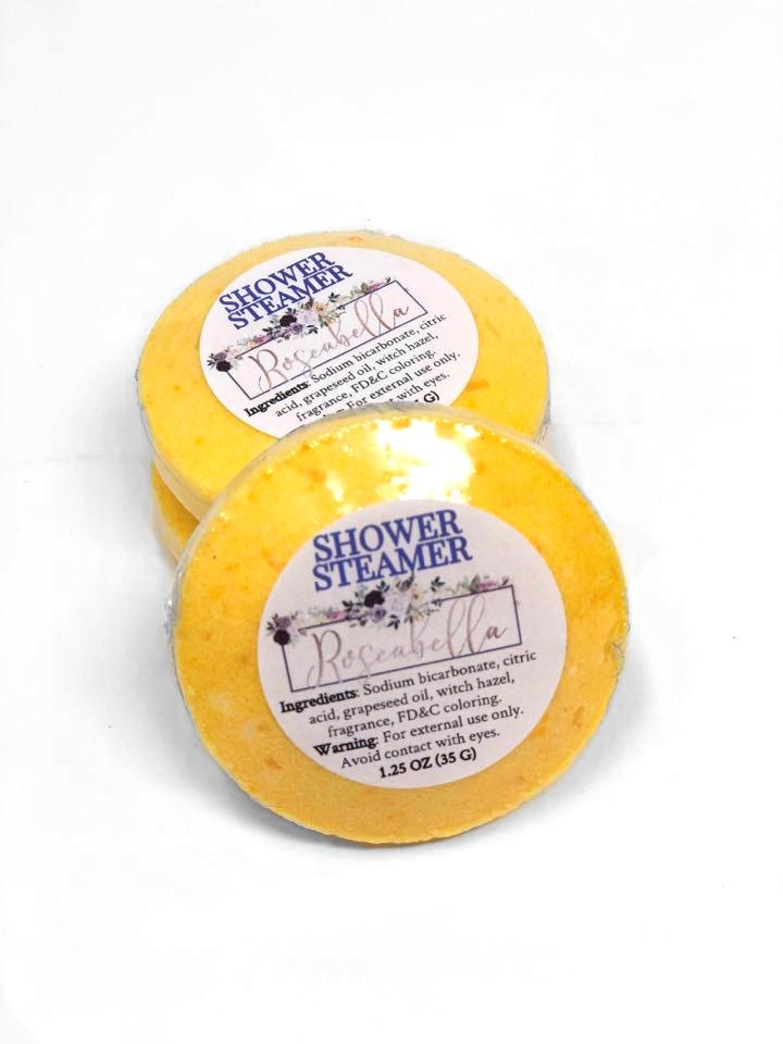 Set of 100 Custom Shower Steamers
