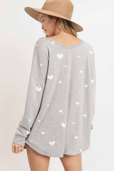 In Love Pullover - Crowned Boutique