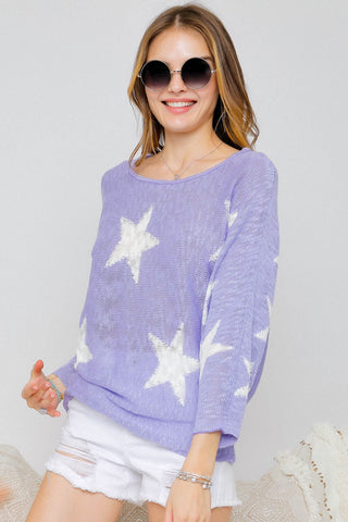 Starstruck Sweater - Crowned Boutique