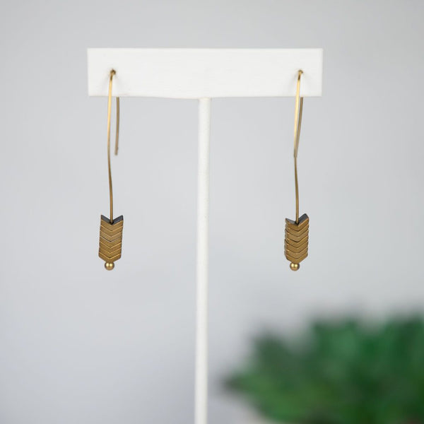 Arrow Dangles on Wire (Various Colors Available)