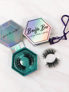 Famous Boujie Bee Luxury Mink Eyelashes - Crowned Boutique