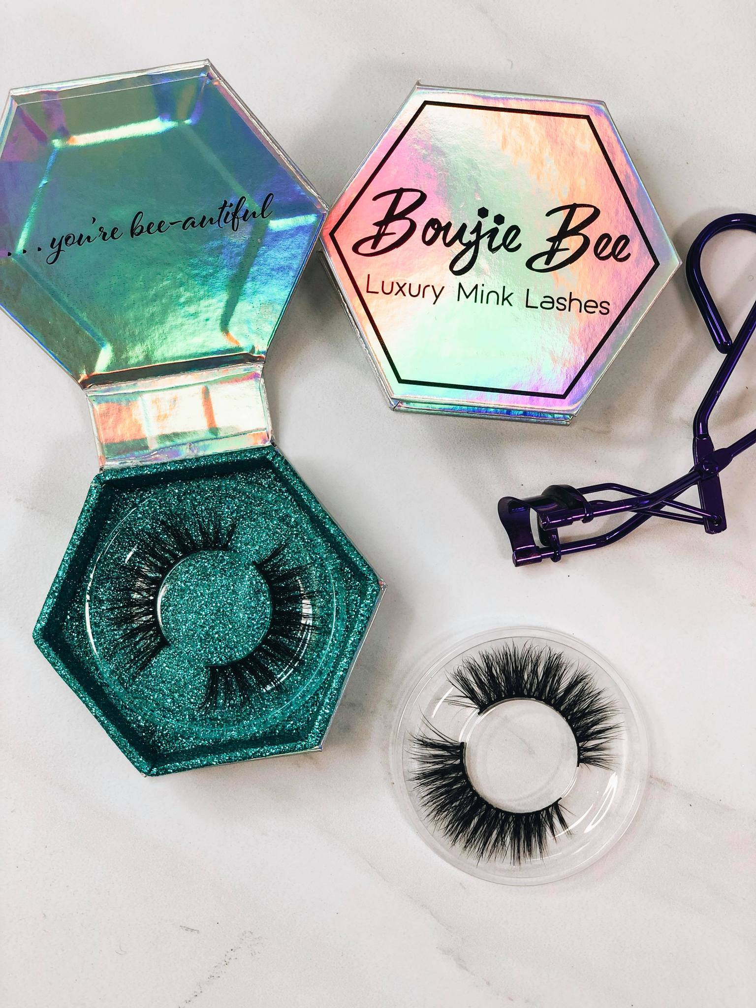 Mischievous Boujie Bee Luxury Mink Eyelashes - Crowned Boutique