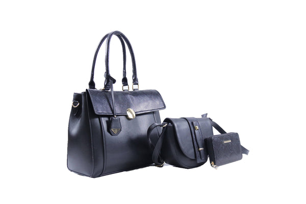 Boujie Bee 3-Piece Purse Set | RA0478-822 - Crowned Boutique