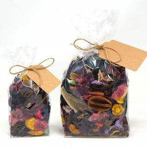LARGE Dried Botanical Potpourri with Essential Oils - Crowned Boutique