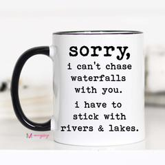 Waterfalls Coffee mug - Crowned Boutique