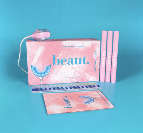 Beaut. Blue-Light Therapy Teeth Whitening Kit