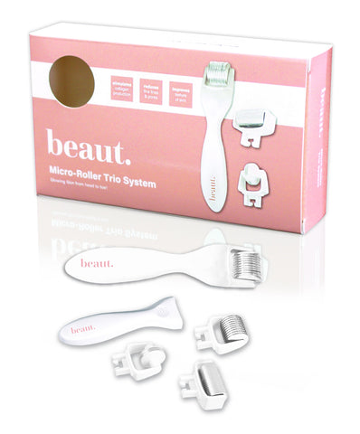 Beaut. Triad Microneedle Roller