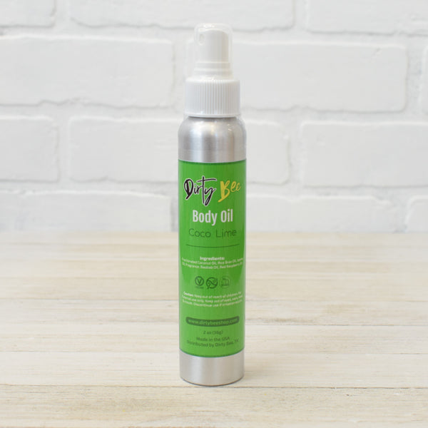 Coconut Lime Body Oil