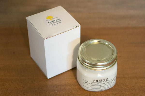 Christmas Scent - 10 oz Soy Wax Candles