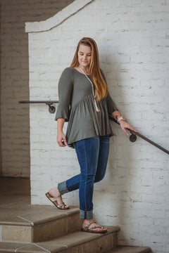 Empire Olive top