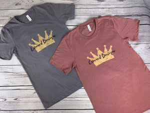Signature Crowned T-Shirt - Crowned Boutique
