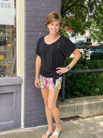 Rainbow Snake Shorts - Crowned Boutique