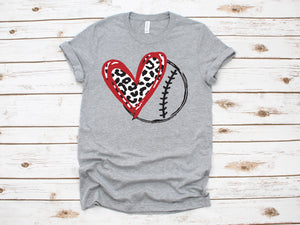 Baseball Heart - Retired