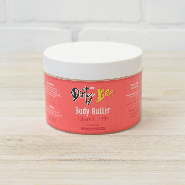 Island Pink Body Butter - Crowned Boutique