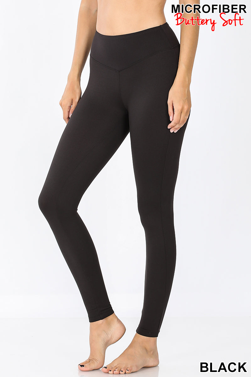 Butter Soft Leggings - Crowned Boutique