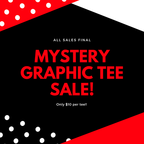 Mystery Graphic T - Crowned Boutique