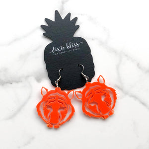 Eye of the Tiger Earrings - Crowned Boutique