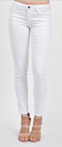 White Skinny Jeans - Crowned Boutique
