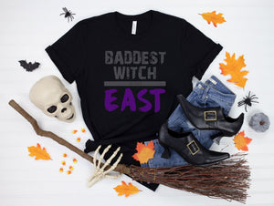 Baddest Witch in the East - Crowned Boutique