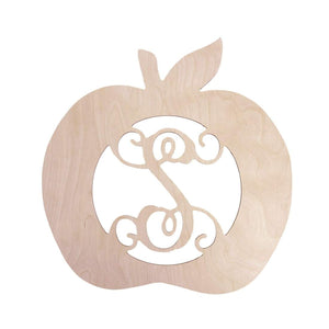 Apple Wood Monogram