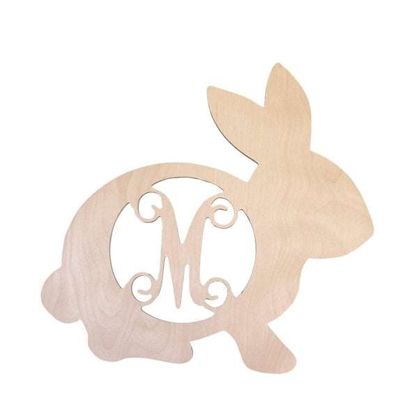 Bunny Wood Monogram