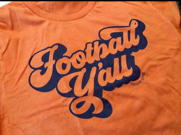 Football Y'all Tee - Crowned Boutique