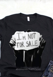 Not For Sale #endhumantrafficing