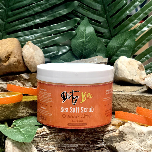 Orange Citrus Sea Salt Scrub