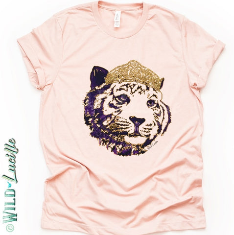 Tiger Queen Tee - Crowned Boutique
